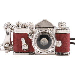 Japan Hobby Tool Miniature SLR Camera Charm (Red)