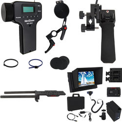 VariZoom Deluxe Zoom Controller and Electronic Focus Controller Bundle and Monitor Kit for Select Sony Camcorders