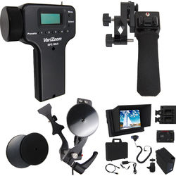 VariZoom Deluxe Zoom Controller and Electronic Focus Controller Bundle and Monitor Kit for Canon ENG-Style Lenses