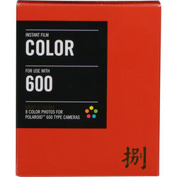 Impossible Color Film for Type 600 Polaroid Cameras (Lucky 8 Edition, 8 Exposures)