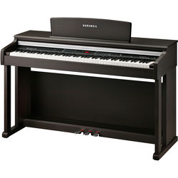 Kurzweil KA150 88-Key Digital Piano with Spinet-Style Cabinet (Rosewood)