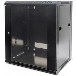"""Intellinet 19"""" Wall-Mount Cabinet (Black)"""