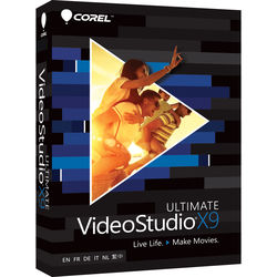 Corel VideoStudio X9 Ultimate (Boxed)