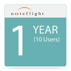 Noteflight Learn - Online Music Learning Program Subscription (1 Year, 10-User)