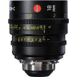 Leitz Cine 18mm T2.0 Summicron-C Lens (PL Mount, Marked in Feet)