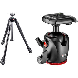 Manfrotto MT190X3 Aluminum Tripod with MHXPRO-BHQ2 XPRO Ball Head with 200PL Quick Release System