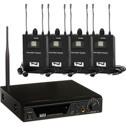 Anchor Audio AL-9000 4-User Assistive Listening System with Base station (902 -928 MHz)