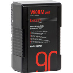 Bebob Engineering V90RM-CINE 14.8V V-Mount High-Load Li-Ion Battery