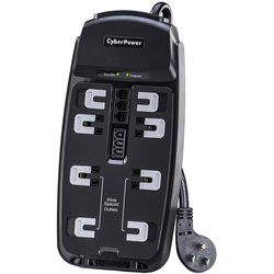 CyberPower CSP806T 8-Outlet Professional Surge Protector