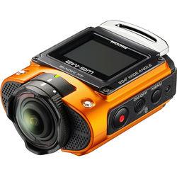 Ricoh WG-M2 Action Camera Kit (Orange)