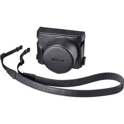 Nikon CF-DL2 Semi-Soft Case with Neck Strap (Black)