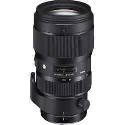 Sigma 50-100mm f/1.8 DC HSM Art Lens for Sigma SA