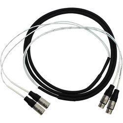 Pro Co Sound 2-Channel Neutrik NC3MX-1 3-Pin XLR Male to Neutrik NC3FX-1 3-Pin XLR Female Audio Cable (20')