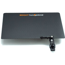 Bright Tangerine Carbon Fiber Top Flag for Misfit Atom Matte Box
