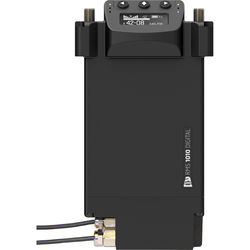 Audio Ltd. DX1010 Digital Receiver with 3-Pin XLR Male to 761K Switchcraft DC Stand-alone Adapter (Frequency Range B, 518 - 608 MHz)