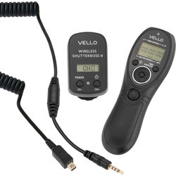 Vello Wireless ShutterBoss II Remote Switch with Digital Timer for Select Olympus & Panasonic Cameras