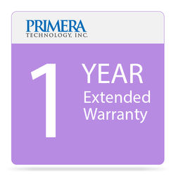 Primera 1-Year Extended Warranty for LX500 Color Label Printer with Cutter
