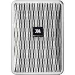 JBL Control 23-1 Ultra-Compact Indoor/Outdoor Background/Foreground Speaker (Pair, White)