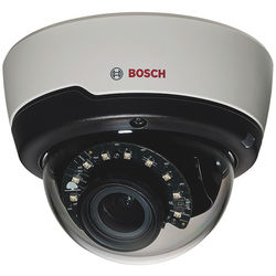 Bosch FLEXIDOME IP indoor 5000 HD IR PoE IP Dome Camera with Varifocal 3 to 10mm Lens