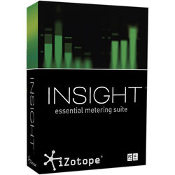 iZotope Insight - Metering Suite Plug-In for Post Production and Broadcast (Educational Download)