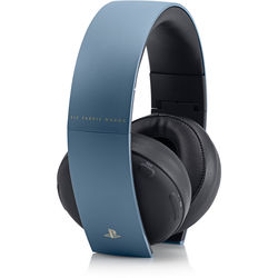 Sony PlayStation Uncharted 4 Limited Edition Gold Wireless Headset (Gray Blue)