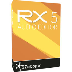 iZotope RX 5 Standard - Audio Restoration Software (Educational Download)