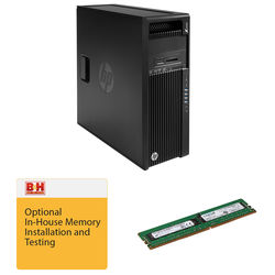 HP Z440 F1M51UT Minitower Workstation Kit with Crucial 8GB 288-Pin DDR4 RAM & B&H Installation Service