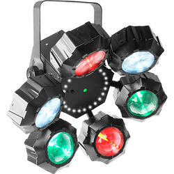 CHAUVET Beamer 6 FX - Beams/Strobe/Lasers Multi-Effect LED Fixture