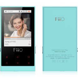 FiiO M3 Micro-Portable Digital Music Player (Cyan)