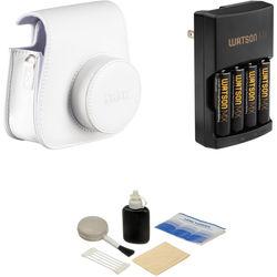 Fujifilm Camera Accessory Kit for instax mini 8 Camera (White)