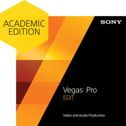 Sony Vegas Pro 13 Edit (Academic Edition, Download)