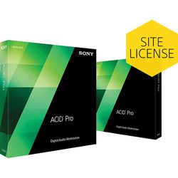 Sony ACID Pro 7 Upgrade - Audio, MIDI and Loop Based Recording Software (Single License for Multi-User Site, Boxed)