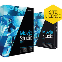 Sony Movie Studio 13 Suite (Academic, 5-99 License Tier, Download)