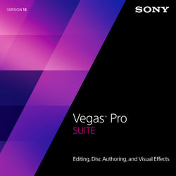 Sony Sony Vegas Pro 13 Suite Upgrade from Movie Studio (Download)
