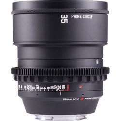 LOCKCIRCLE PRIME CIRCLE XE 35mm f/1.4 SuperSpeed Lens(EF Mount, Marked in Feet)