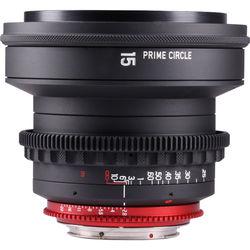 LOCKCIRCLE PRIME CIRCLE XM 15mm f/2.8 Lens (EF Mount, Marked in Feet)