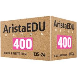 Arista EDU Ultra 400 Black and White Negative Film (35mm Roll Film, 24 Exposures)