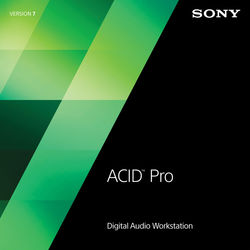 Sony ACID Pro 7 Competitive Upgrade - Audio, MIDI and Loop Based Recording Software (Download)