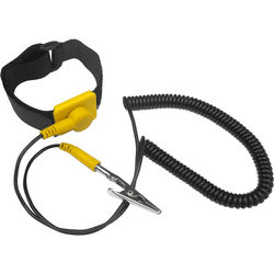 Kingwin Anti-Static Wrist Strap with Grounding Wire (5-Pack,<sp> </sp>Yellow)