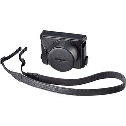 Nikon CF-DL1 Semi-Soft Case with Neck Strap (Black)