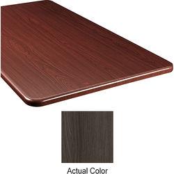"Middle Atlantic Wood Top Panel for Slim 5-Series Equipment Rack (20"" Deep, Timberwolf)"
