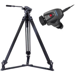 Acebil J-805GX Tripod & Zoom Controller Kit for Panasonic Cameras