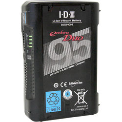 IDX System Technology DUO-C95 Endura Duo 14.4V 93Wh Lithium-Ion Battery (V-Mount)