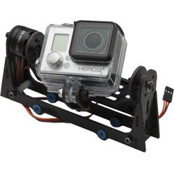 Xcraft Brushless 2-Axis Gimbal & GoPro HERO3+ Silver Camera Package for X PlusOne Quadcopter