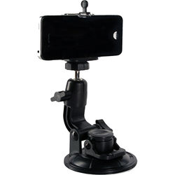 SHILL Suction Cup Mount with Smartphone and GoPro Adapters