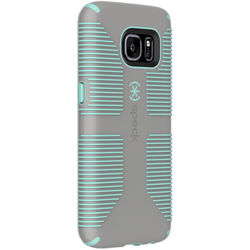 Speck CandyShell Grip Case for Galaxy S7 (Sand Gray/Aloe Green)
