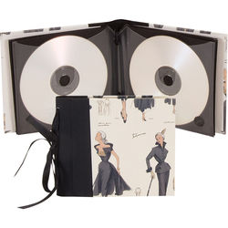 "Lineco Ribbon Bound 12 CD Holder Kit (Women's Fashion Cover, 5.25 x 6"")"