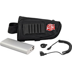ATN 1600mAh Extended-Life Battery Pack with USB Cable, Cap & Neck Strap Holder​