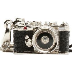 Japan Hobby Tool Miniature Range Finder Camera Charm (Silver)