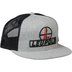 Leupold Reticle Flat Brim Trucker Hat (Black)
